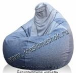 Кресло мешок груша комбинированный