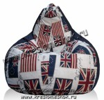 Кресло мешок флаг