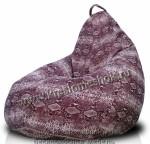 кресло мешок из этой ткани отлично держит форму