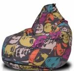 Кресло мешок canvas-pop-art-arben