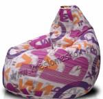 Кресло мешок  Canvas-Lingvo Purple