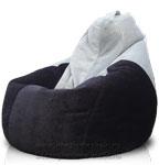Кресло-мешок Груша из микровильвета