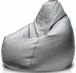 Кресло-груша из искусственной кожи