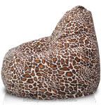 Кресло-мешок Груша из Искусственного меха Гепард