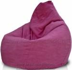 Кресло-мешок Груша из Канвас Вишня