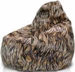 Кресло-мешок Груша мех Тигр