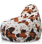 Кресло-мешок Груша из Искусственного меха Корова