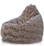 Кресло-мешок Груша из Искусственного меха Леопард