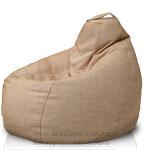 Кресло мешок Груша из шинила Ника