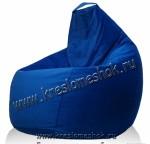 Кресло мешок из мебельной ткани флок