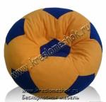 Кресло-мешок Футбольный мяч из мебельной ткани