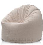 Кресло мешок пуфик Универсал из велюра астра