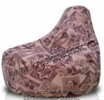 Кресло мешок для отдыха с наполнением шариков полистирола