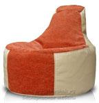 Комбинирование тканей у кресло мешка второй категории