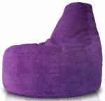 Кресло-мешок Банан из микровильвета