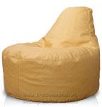 Кресло мешок банан из Иск. Кожи