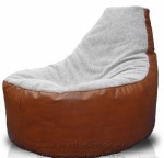 Комбинирование тканей  кресло мешка