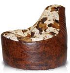 Кресло мешок пуф Банан из Иск. кожа + иск. мех