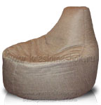 Кресло мешок пуфик Банан из рогожки