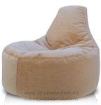 кресло пуф из микровильвета