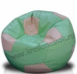 Кресло-мешок Футбольный мяч из искусственной кожи очень практичный