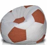 Кресло мешок футбольный мяч из замши Мар